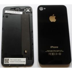 Vitre arrière blanche pour iPhone 4 montée sur châssis.