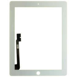 Vitre tactile iPad 3 Blanc Nouvel iPad