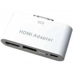 adaptateur hdmi usb pour iPhone 4 et iPad