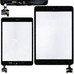 Vitre tactile complète iPad Mini Noir