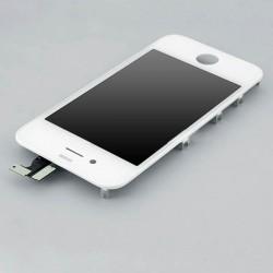 Kit de remplacement d'écran complet assemblé pour iPhone 4 blanc