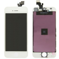 Ecran LCD Retina avec vitre tactile iPhone 5G blanc