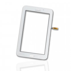Ecran vitre tactile Samsung Galaxy Tab 3 Lite 7 pouces SM-T116 blanc