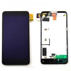 Ecran LCD vitre tactile assemblés sur châssis Nokia Lumia 630